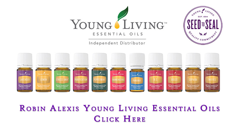 Robin Alexis is an Independent Distributor of Young Living Essential Oils